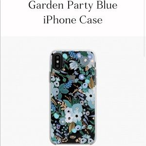 Rifle Paper co. Garden party iPhone XS Max case